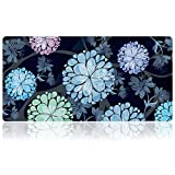 Extra Large Mouse Pad - Flower Design Gaming or Desk Mouse pad - 31.5'' x 15.7''x0.12''(3mm Thick)- XXL Protective Mouse Keyboard Desk Mat for Computer/Laptop(Dandelion)