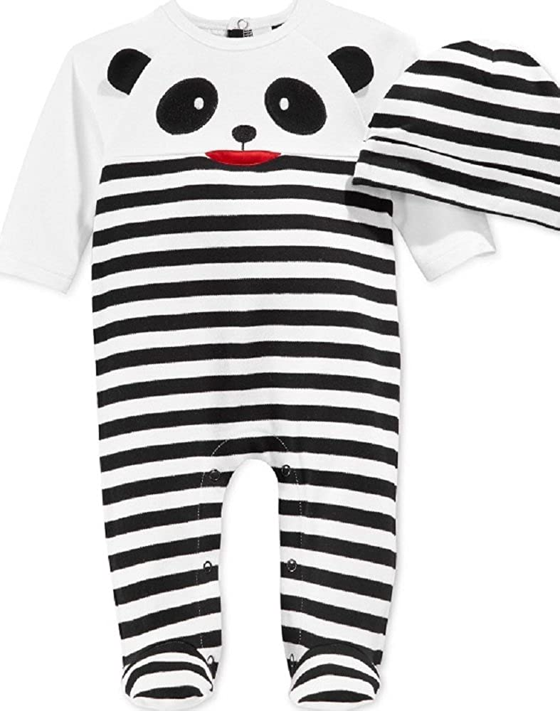 f27d949cd Amazon.com  First Impressions Baby Infant Coverall   Hat Set