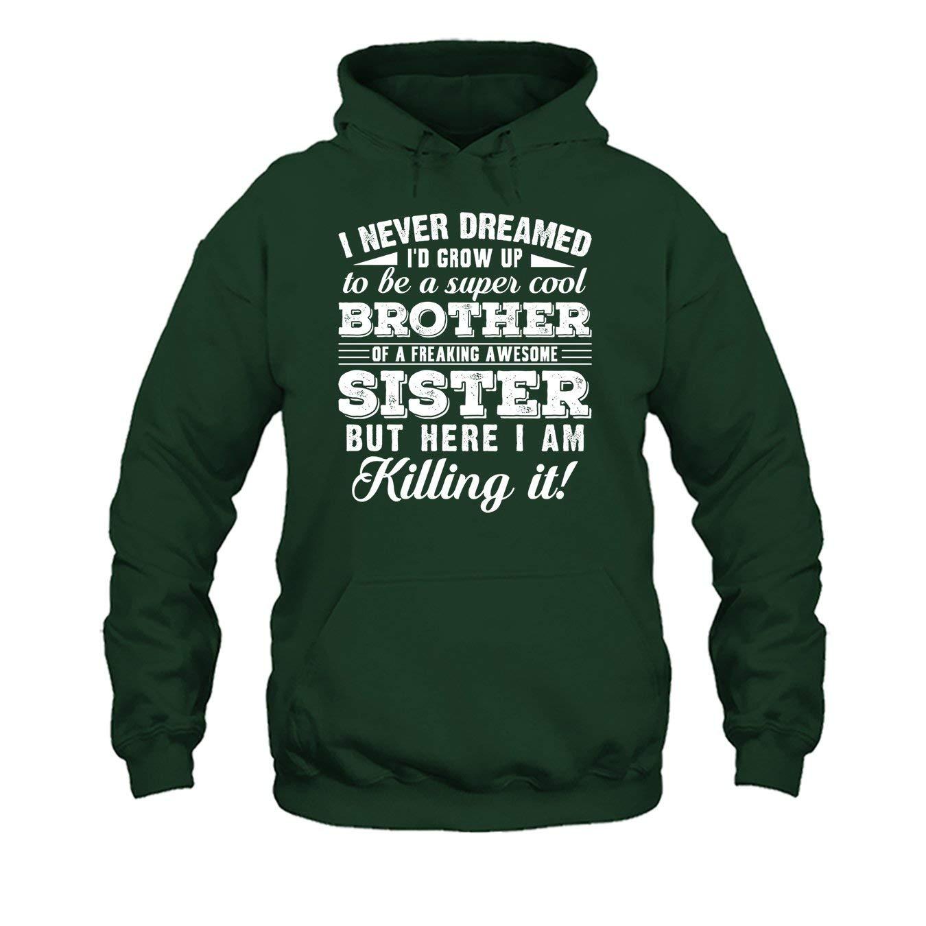 Brother of Sister Tee Shirt Hoodies Shirt