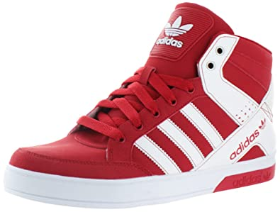 a9131e17e6 Adidas Hard Court Block Men US 10 Red Sneakers9.5 UK 9.5: Amazon.co ...