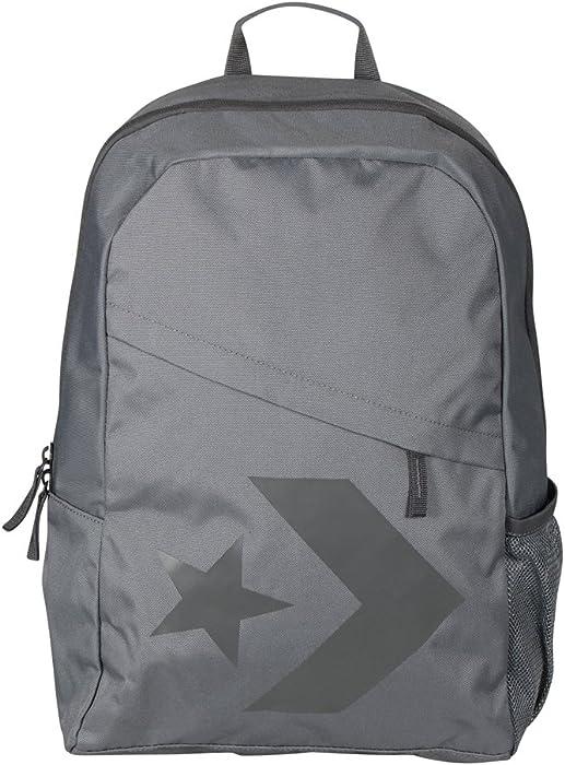 7c4d8a90f25 Converse Unisex Rucksack Speed Backpack Star Chevron River Rock (grau)