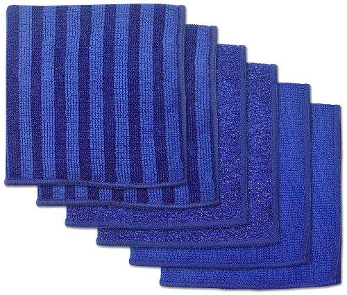 DII Microfiber Scratch Free Scrubber Cleaning Dishcloth (12x12