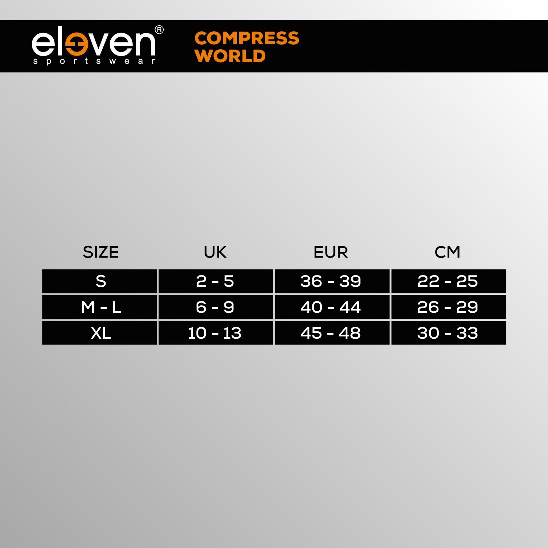 Eleven Chaussettes Compression/ /suuri Jaune Fluo