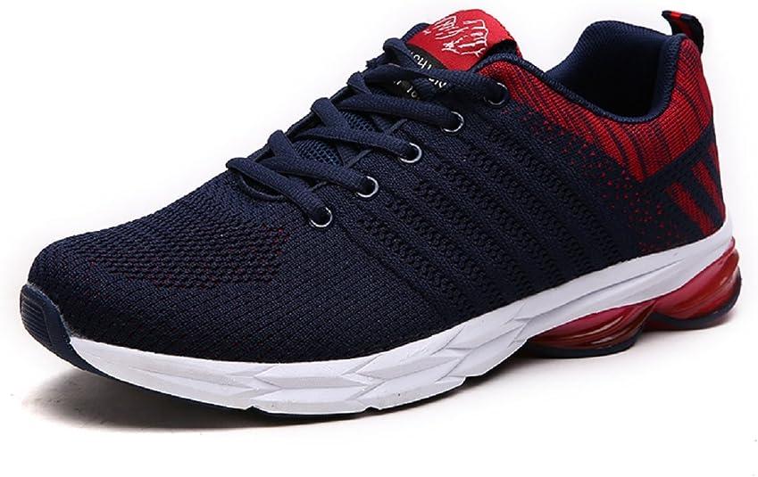 Zapatillas Running para Hombre Aire Libre y Deporte Transpirables Casual Zapatos Gimnasio Correr Sneakers Verde 39-45: Amazon.es: Zapatos y complementos