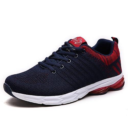 e25108f4b NEOKER Zapatillas Running para Hombre Aire Libre y Deporte Transpirables  Casual Zapatos Gimnasio Correr Sneakers Verde 39-45: Amazon.es: Zapatos y  ...