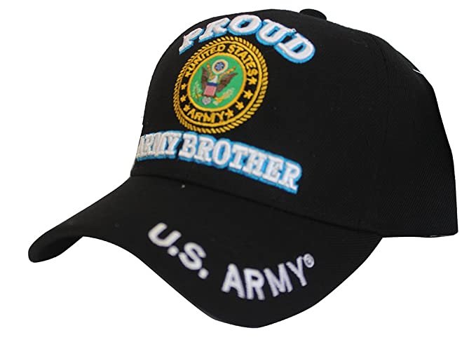 Proud Army Brother Baseball Cap US Army Hat United Stated Military ... 8351381b68d