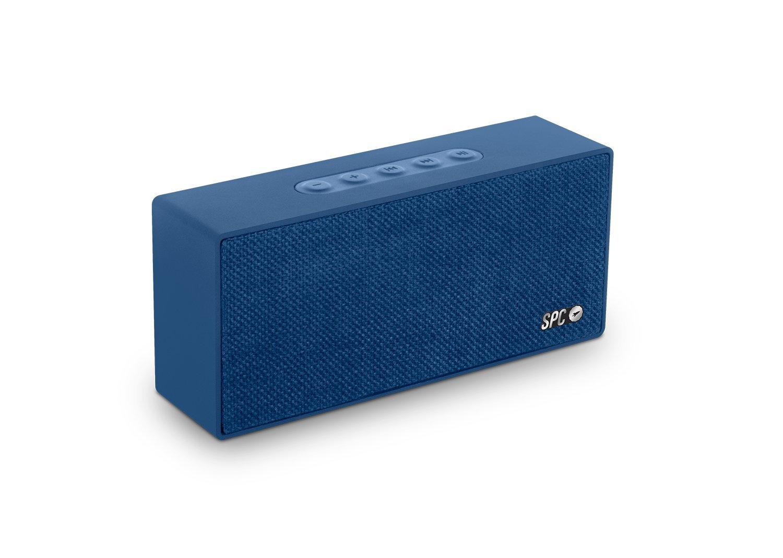 SPC One Speaker negro con acabado en tela y 4 watios de potencia