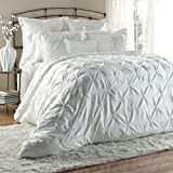 Lush Decor Lux 6-Piece Comforter Set, Queen, White - Best Reviews Guide