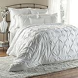 Lush Decor Lux 6-Piece Comforter Set, Queen, White Review and Comparison