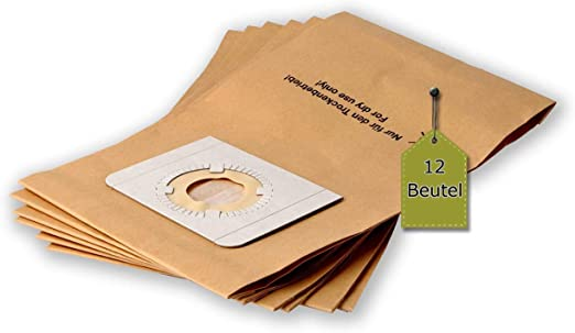 eVendix - Bolsas para aspiradora Nilfisk 18451119 Buddy II 12, 12 unidades, compatible con Swirl UNI10: Amazon.es: Hogar