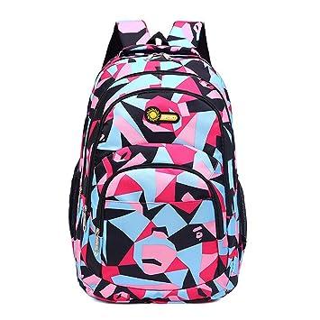 76552c5fced LiPing Camouflage Printing Teenage Girls Boys backpack School Bag, Back to School  Backpacks for Cute