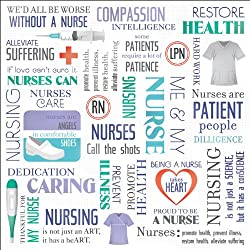 Medical Paper 12X12 Nurse Collage 25 per pack