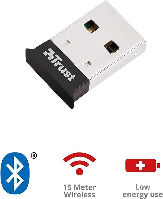 Trust 18187 - Adaptador de Red USB 4.0, Negro