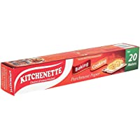 Kitchenette Baking and Cooking Parchment Paper - 20 Meters (White)
