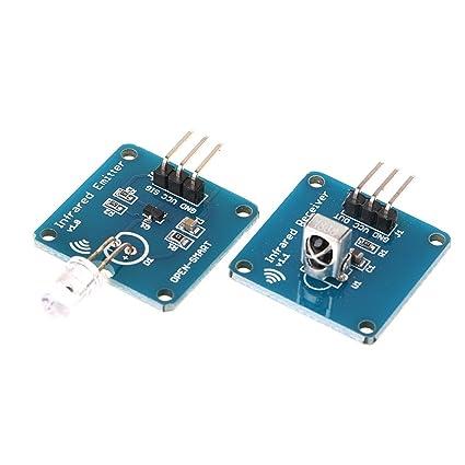 Amazon.com : Lvyuanda NE555 Infrared Transmitter+IR Receiver ...