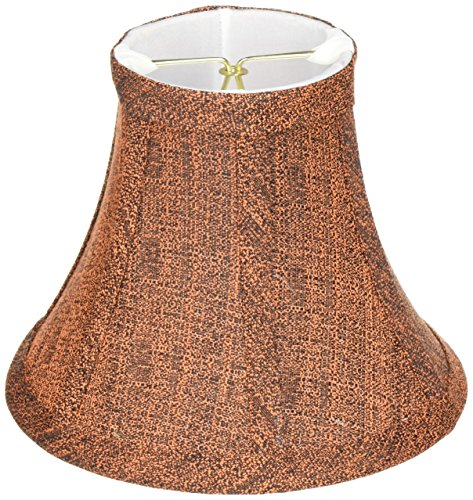 UPC 088675651024, Lite Source CH5102-6 6-Inch Lamp Shade, Rust and Black