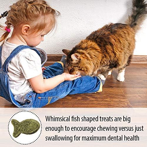 Emerald Pet Premios Dentales de Salmón DE 85 g para Gato 8