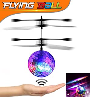 3e26f0297 U-MISS Crystal Flashing LED Light RC Infrared Induction Helicopter