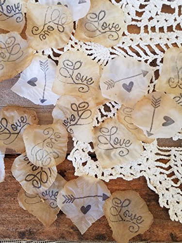 Wedding Bohemian Romantic Aisle or Table Scatter DIY Decorations for Boho Weddings, Bridal Showers, Engagements, Party , arrow and (Diy Wedding Reception Decorations)