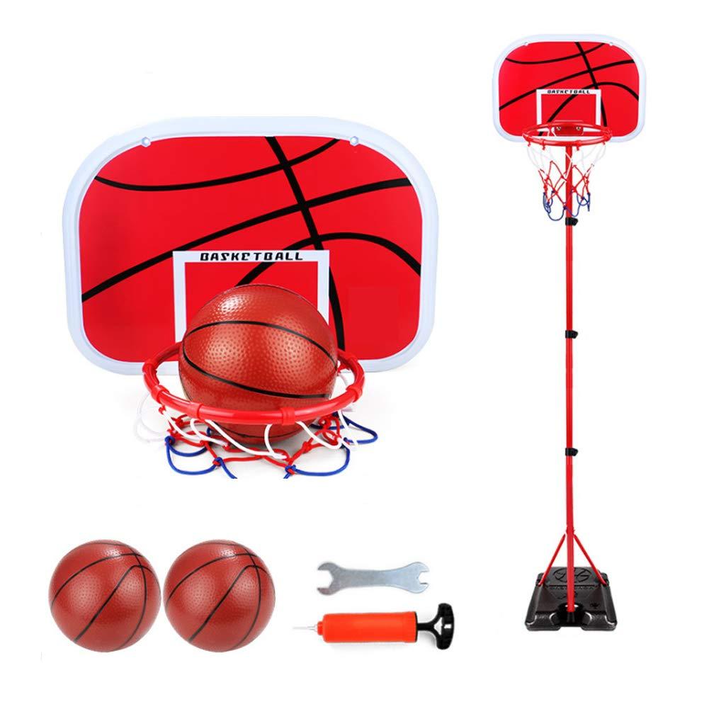 YunNasi Estable Estable Estable y Altura Regulable Canasta de Baloncesto (con Pelota y Bomba para niños y jóvenes, 170 cm 353b9f