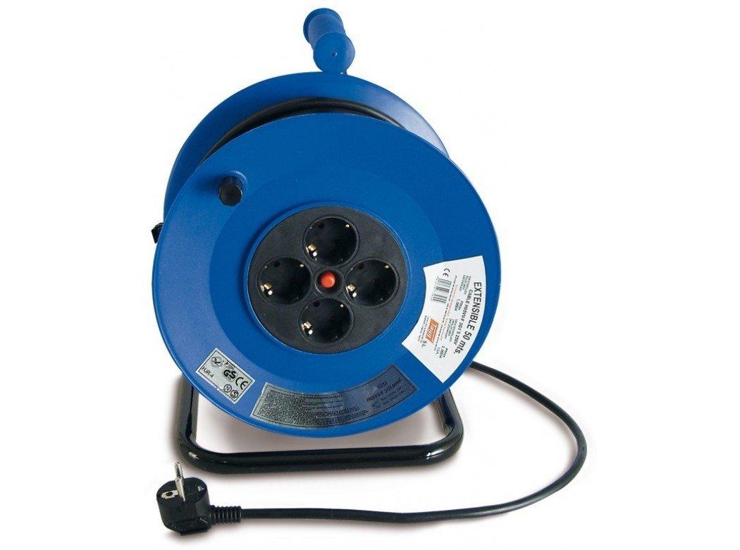 Enrollacables instalaci n el ctrica for Alargador de corriente