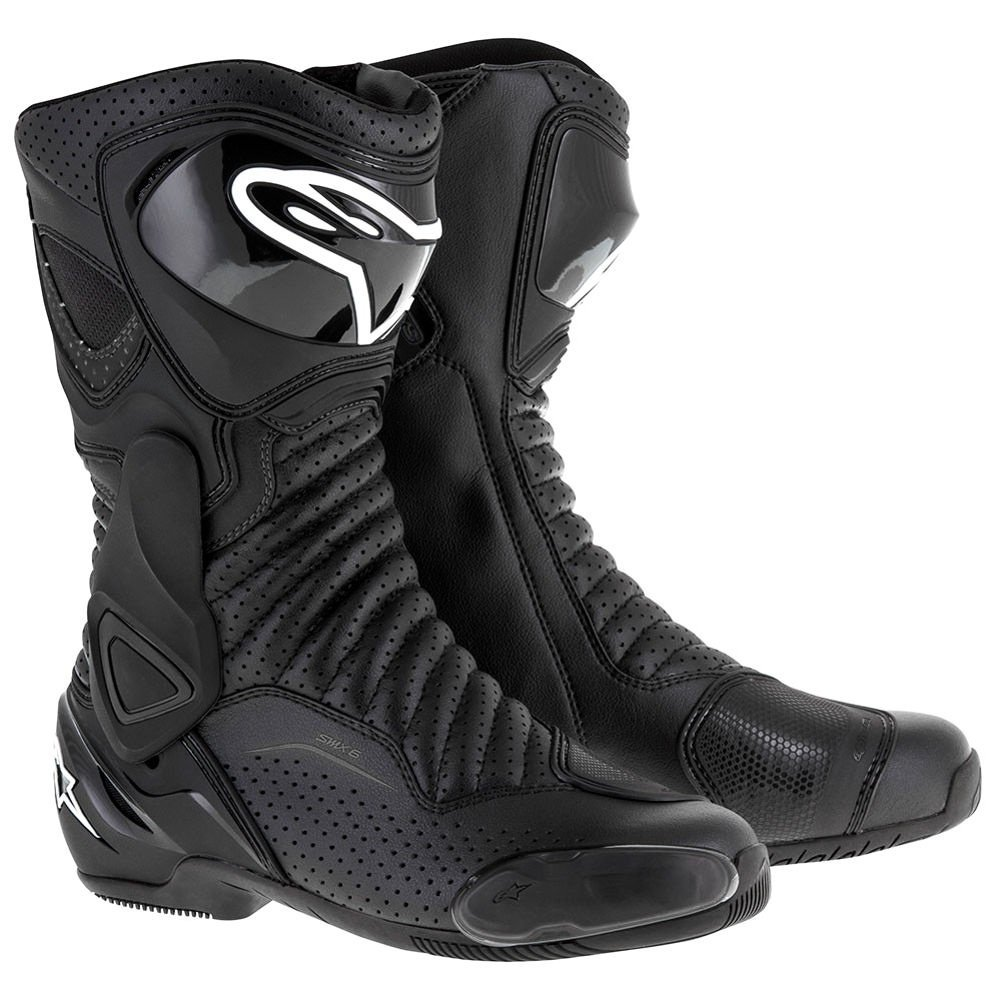 Alpinestars SMX-6 v2 Vented Boots (46) (Black/Black)