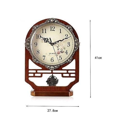 SZGYP Reloj de Mesa Escritorio Estante Relojes de Mesa decoración ...