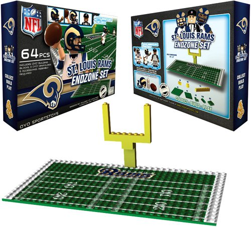 NFL St. Louis Rams Endzone Toy Set (Louis Rams End)