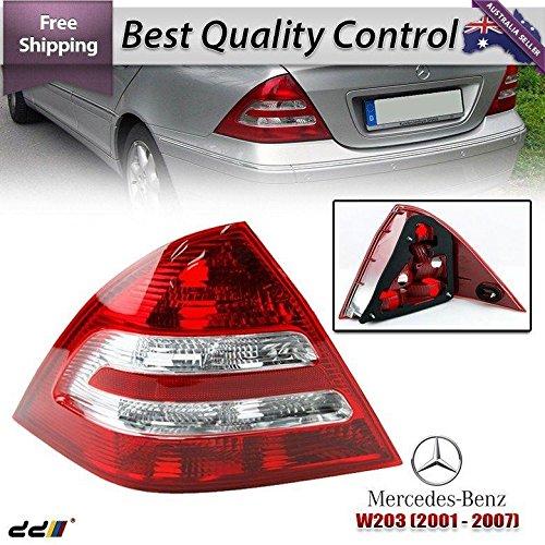 REAR TAIL Light Lights Benz Mercedes W203 C-Class 00-04 C180 C200 C220 LEFT SIDE ()