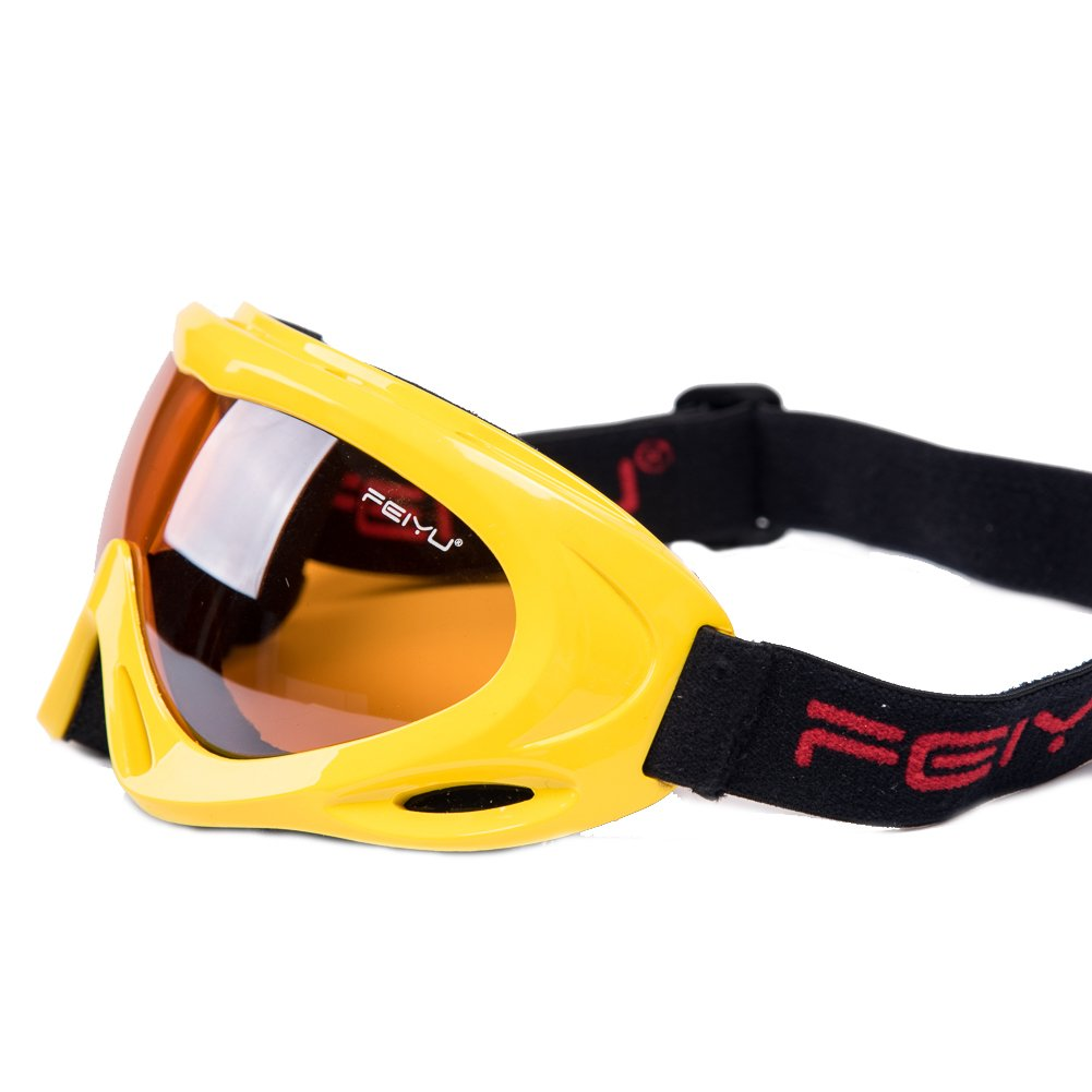 b3a5f784344 Feier Yusi Adult Professional Ski Goggles Snowmobile Snowboard Skate Snow  Skiing Goggles with 100% UV400 larger image