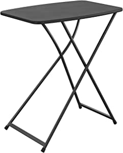 CoscoProducts Multi-Purpose, Adjustable Height Personal Folding Activity Table, 1-Pack, Black