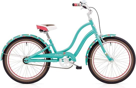 Electra Sweet Ride 20 pulgadas – Bicicleta para niña showbike Niños turquesa, 528795: Amazon.es: Deportes y aire libre