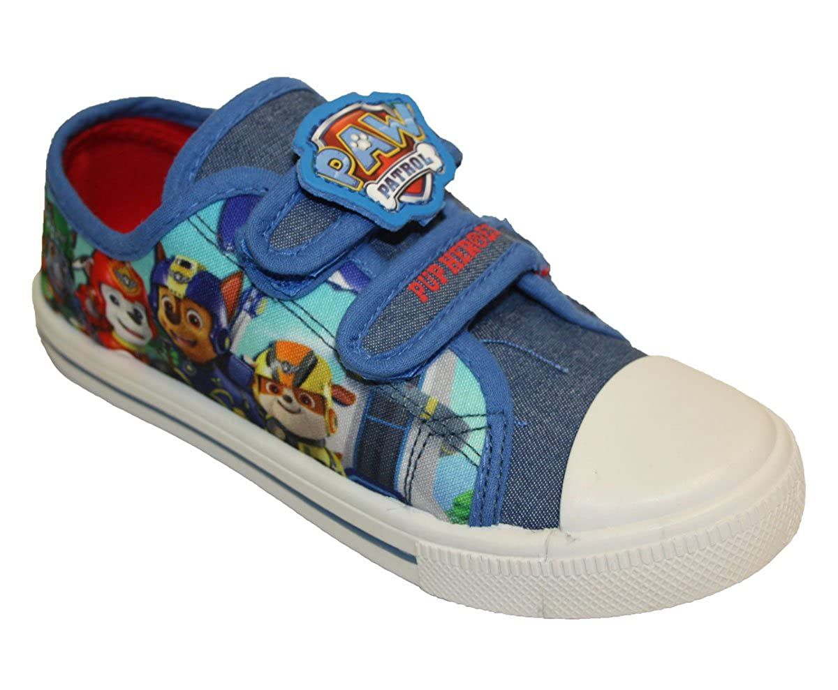 a09430b17702ef Paw Patrol Boys Canvas Pump Trainers  Amazon.co.uk  Shoes   Bags