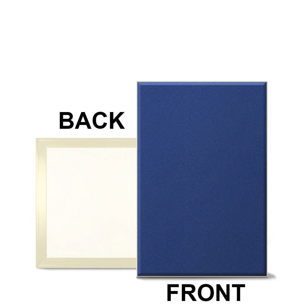 Fabricmate Magnetic ''Message Manager'' Fabric Bulletin Board 12''x18''x1/2'' Blue