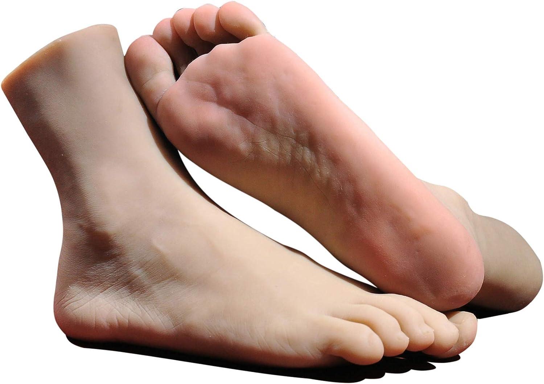 EIN Paar Fu/ß KUMIHO Fu/ß Modell Schaufensterpuppe Fuss Mannequin Deko Socken Schuhe Fu/ßkettchen Modell anzeigen echte Gr/ö/ße Display Pr/äsentation Modell Schmuckst/änder Das Hauptmaterial:TPE 3706