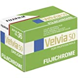 Fujifilm 16329161 Velvia Color Slide Film ISO 50, 35mm, 36 Exposures (Green/Blue/White)