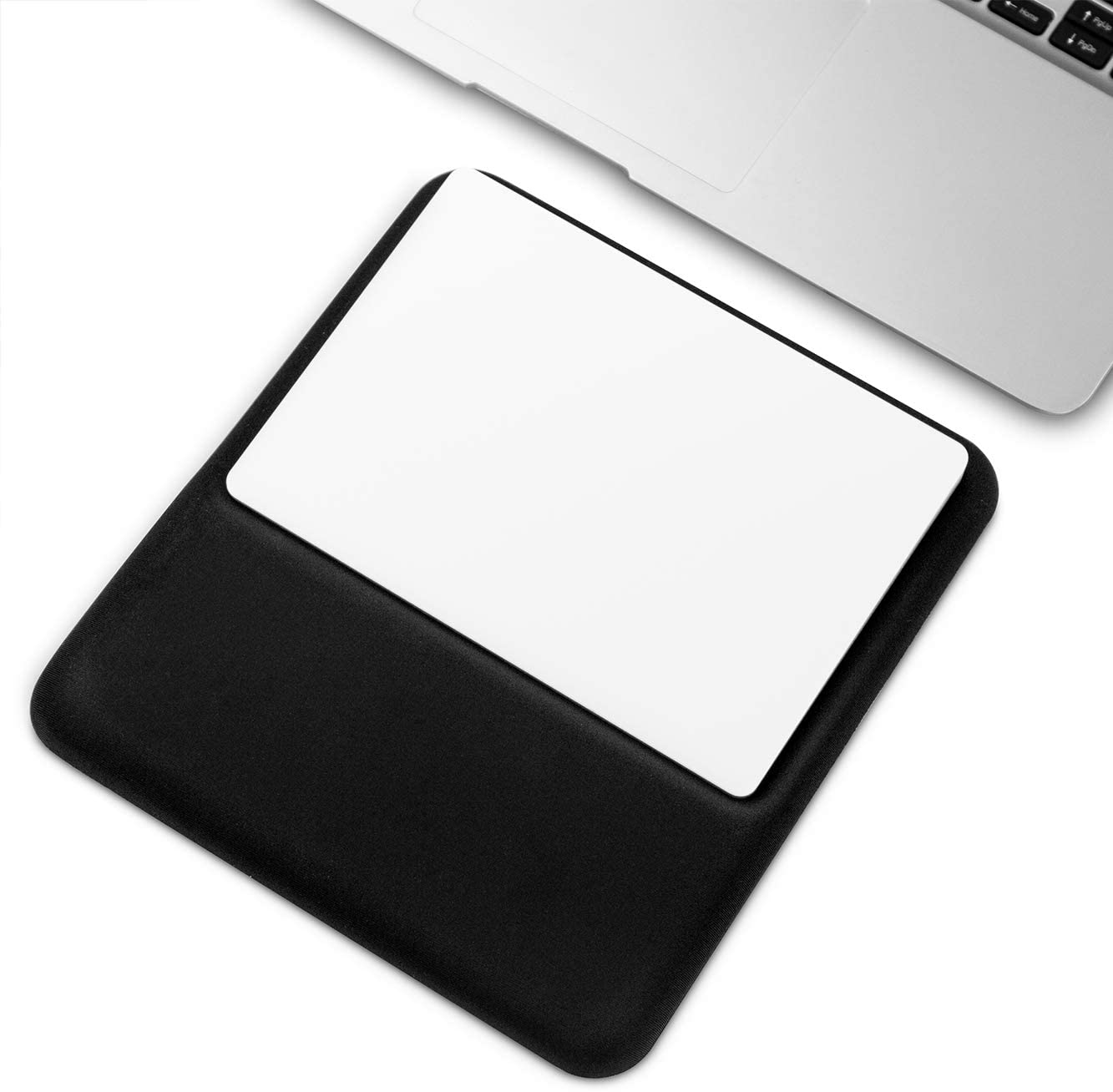 Slim Ergonomic Wrist Rest for Magic Trackpad (Black