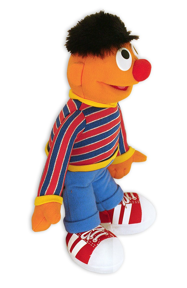 Close Up Figura de Peluche Sesame Street/Barrio Sésamo Ernie-Enrique: Amazon.es: Juguetes y juegos