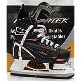 PowerTek V3.0 Tek Adjustable Hockey Skate YTH13-JR3