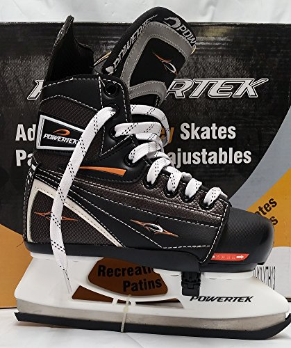 PowerTek V3.0 Tek Adjustable Hockey Skate YTH13-JR3 by PowerTek