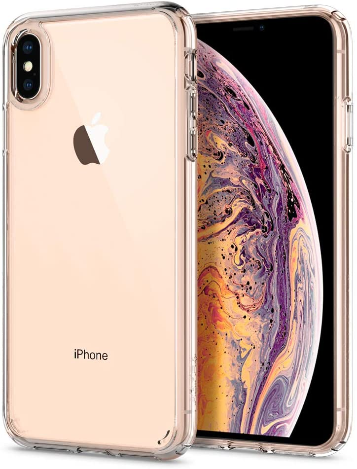 Spigen Ultra Hybrid Designed for Apple iPhone Xs MAX Case (2018) - Crystal Clear