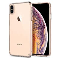 Spigen Ultra Hybrid with Air Cushion Technology and Hybrid Drop Protection Designed for Apple iPhone Xs Max Case (2018) - Crystal Clear