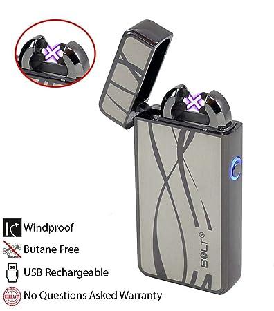 Utestående Amazon.com: BOLT Lighter® USB Rechargeable Windproof Electric ME-35