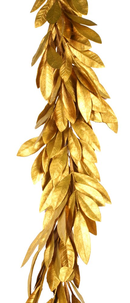 6ft Gold Bayleaf Garland