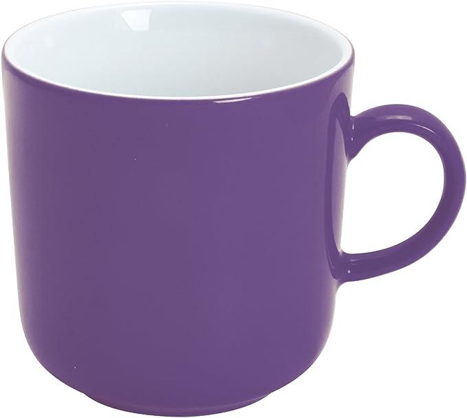 Kahla Pronto Colore Kaffeebecher XL Kaffee Tasse Becher Porzellan Beere 400 ml