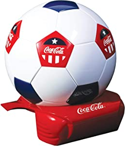 Koolatron CCSB5 5 Can Soccer Ball Electric Cooler, Red