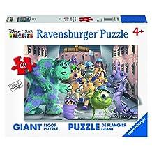 Ravensburger Disney Monsters Inc. The Whole Gang Floor Puzzle (60 Piece)