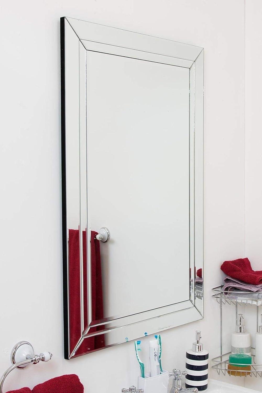 Grand Classique /él/égant biseaut/é Dor/é R/ésine Robe Miroir