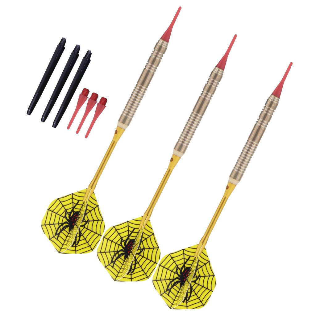 Baosity Safety Soft Tip Darts Soft Dart Needle Box Suitable for Bar Home Game, Leisure and Entertainment