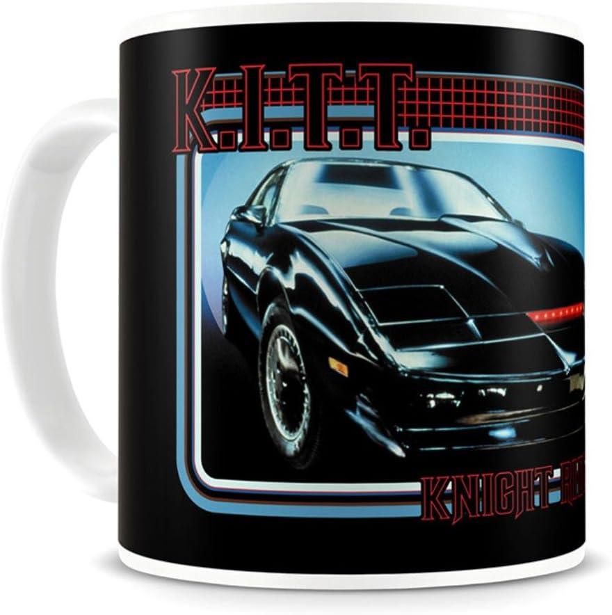 Official Retro TV Knight Rider gusta K.I.T.T, AUTO taza de café - en caja: Amazon.es: Hogar
